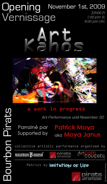 Flyer Pirats Art Kahos 2009