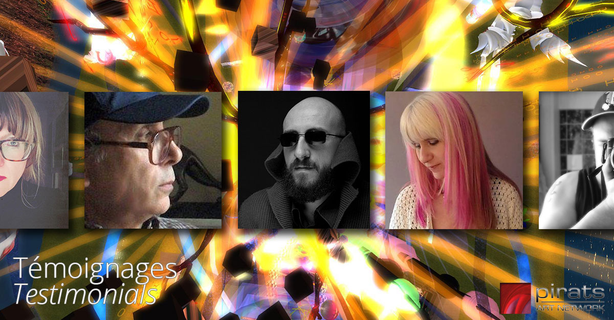 Témoignages d'artistes et bénévoles de Pirats Art Network